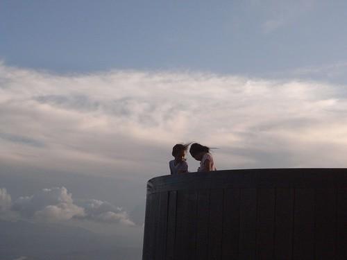 你拍攝的 62雲端上的女孩。