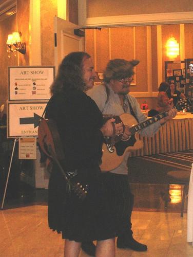 Musicians at Necronomicon