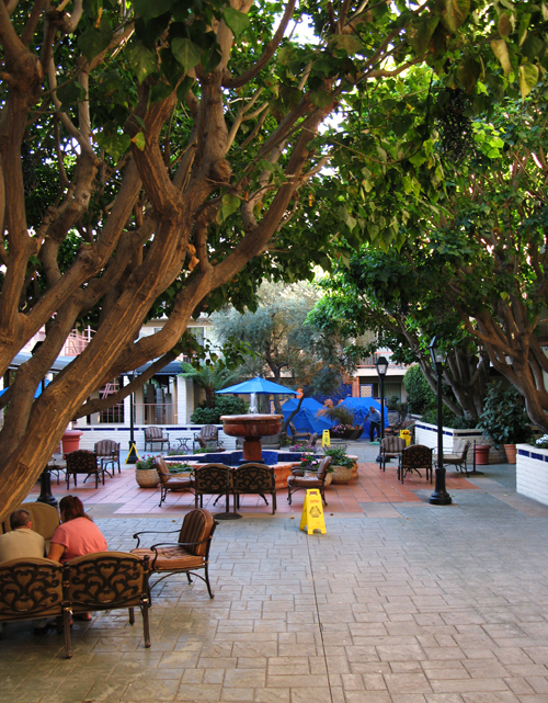 Hacienda Hotel Courtyard