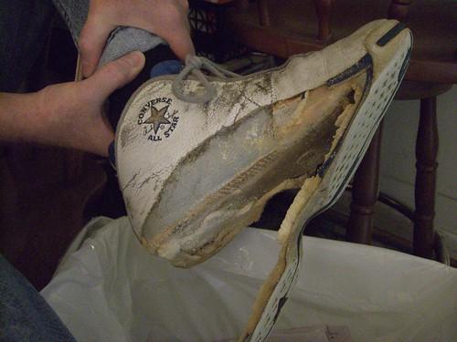 Epic Sneaker Fail