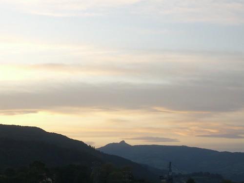 Sunrise over Pico de las Nieves