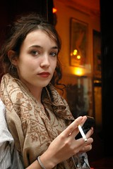 Anna (alibaba0) Tags: anna woman girl beautiful beauty cigarette femme beaut smoker fille annah fumeuse villabar chefsdtat
