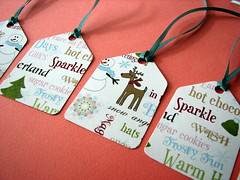 Christmas gift tags (by glamourfae)