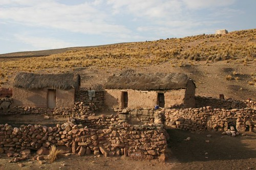 Altiplano settlement.