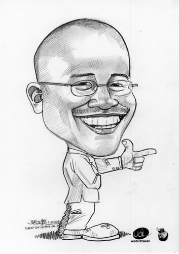 Caricatures Web in Travel 2008 Azran