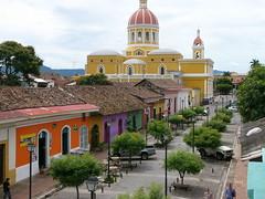 Nicaragua colonial Granada famous street La Calzada 4 10-08 (Tripatini) Tags: colonial granada nicaragua centralamerica lacalzada