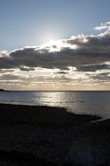 Another View of the Sun (chuckyp83) Tags: sunset sun beach ray glare capecod horizon cape cod
