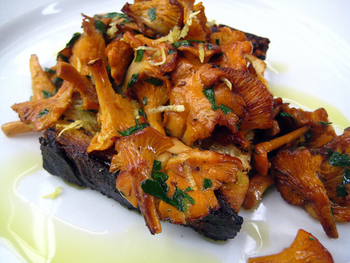 Scottish Girolles from Petersham Nurseries
