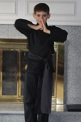 Ninja Geoffrey posing 8 (Tekjock) Tags: halloween ninja geoffrey 2008