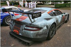 2008 Gulf Aston Martin DBR9. 2008 GT1 Le Mans Winner. Goodwood Festival Of Speed 2008. (Explore) (Antsphoto) Tags: uk classic car sussex gulf britain racing historic explore grandprix 2008 lemans goodwood motorsport goodwoodfestivalofspeed flickrexplore goodwoodhouse astonmartindbr9 lordmarch antsphoto anthonyfosh
