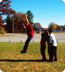 take 5. (mumbaker) Tags: school autumn senior project matt jumping