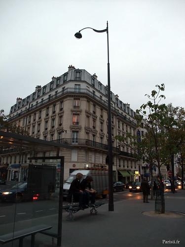 Lampadaire de Paris