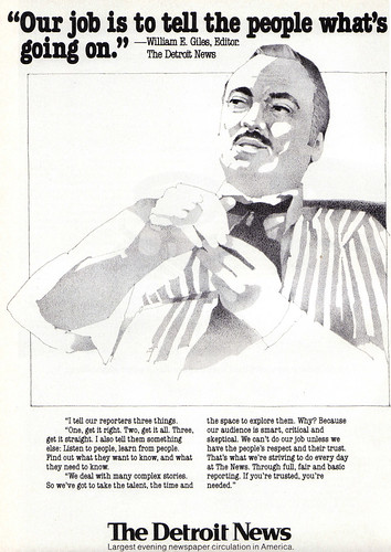 Vintage Ad #647: The News Tells the People What's Going On