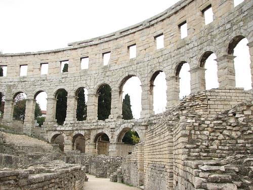 Amfiteátrum, Pula