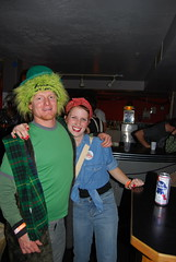 Leprechan and Rosie the Riveter
