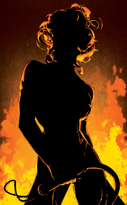 Black Queen (tease, Adam Hughes)