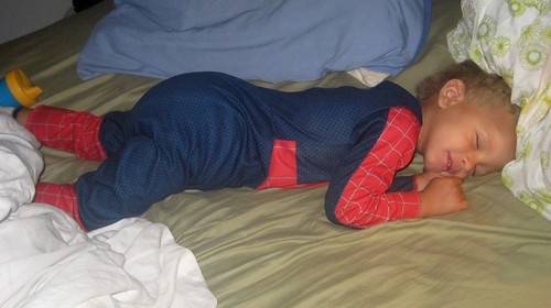 Dozing Spider-Man