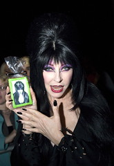 Elvira and Her Halloween Cookie Likeness (Whipped Bakeshop) Tags: philadelphia halloween elvira cassandrapeterson halloweencookie jeffreyholder zoelukas whippedbakeshop elviracookie bestofphilly2010 philadelphiacakescookiesandcupcakes
