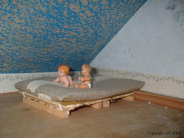 Hyvässä sängyssä näkee kauniita unia!