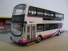 WX57HKD (jeff.day48) Tags: volvo wright gemini code3 modelbus firstbristol 37323 wx57hkd