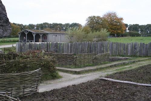 Museumsgarten von Haithabu 01-11-2008