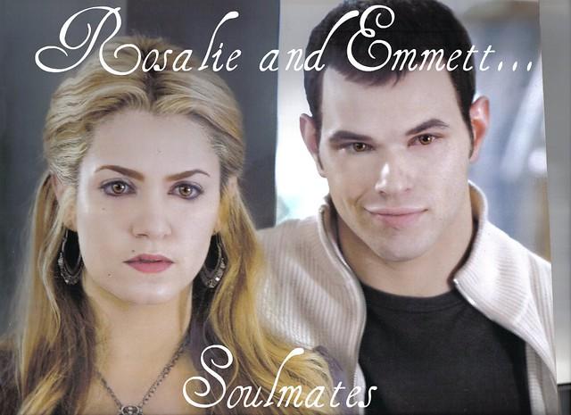 Twilight- Rosalie Hale Cullen (Nikki Reed) & Emmett Cullen (Kellan Lutz)- Soulmates by TwilightSagaSarahW