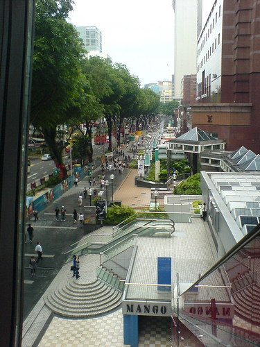 View of Orchard road.