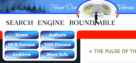 Search Engine Roundtable's Veteran's Day Theme 2008