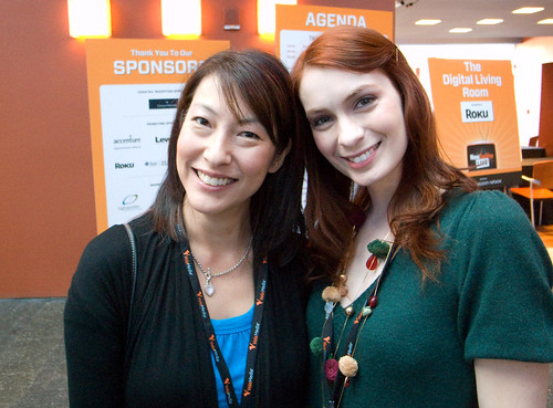 Kim Evey & Felicia Day of The Guild