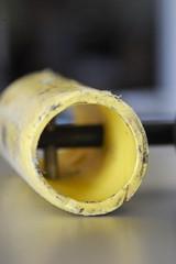 PE gas pipe detail