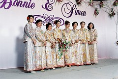 all in Chinese wedding gowns (Simbon) Tags: flowers wedding hotel decoration backdrop bouquet intercontinental weddinggown weddingbanquet weddingdecoration intercontinentalhongkong weddingphotogrpahy chineseweddinggown intercontinentalhongkongballroom