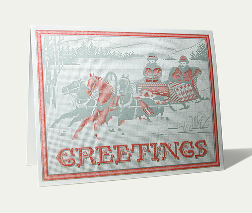 Greeting Card in Red