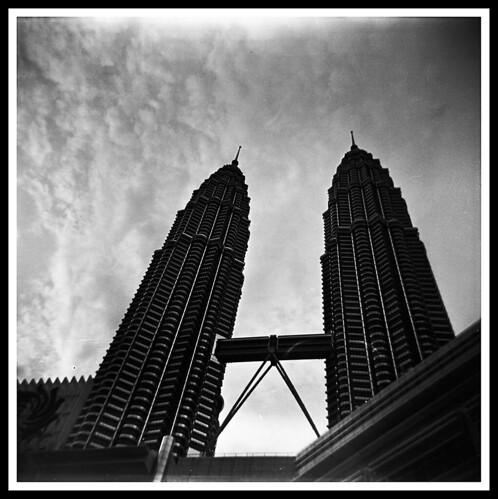 Tower with Holga