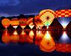 Cincinnati Balluminaria 2008 (Dave Schreier) Tags: sunset lake hot cold reflection ice water night wings pond buffalo colorful glow balluminaria cincinnati air rings ballons wtmwadminfavorite