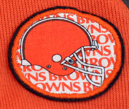 Browns patch...
