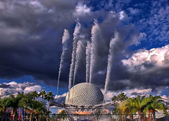 Disney - Epcot - Fountain of Nations