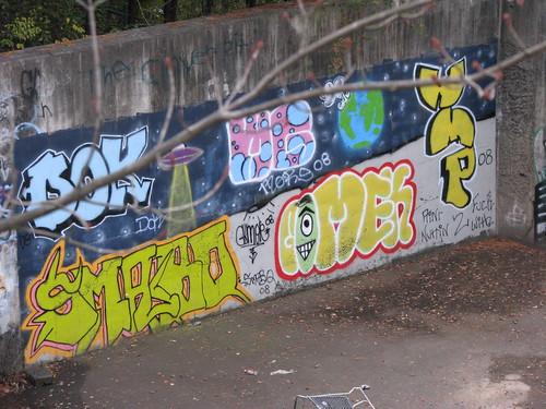 Deane Hill Graffiti