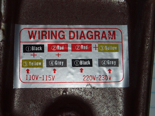 Wiring Motor For 110v Please Help By Blake Lumberjocks