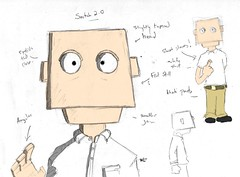 Snitch 2.0 (Brian Hogg) Tags: puppets snitch farrah conceptart characterdesign dotboom designaday