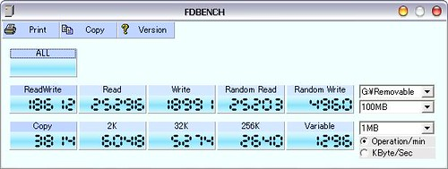 ADATA PD7 隨身碟測速