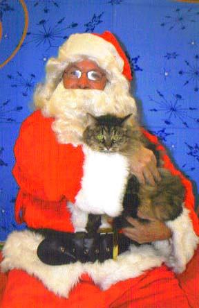 Tula and Santa