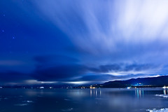 Lake Tahoe Night (jmpsmash) Tags: california longexposure snow ice night laketahoe southlaketahoe lakelandvillage 3minutes