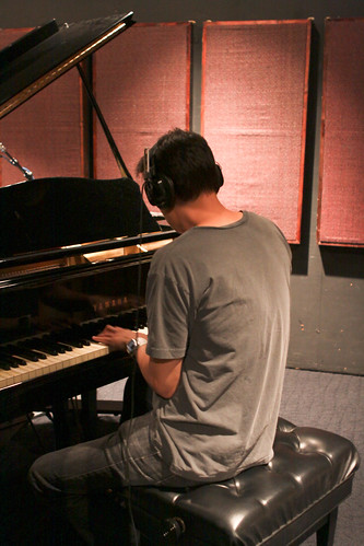 Alan Chang's recording session