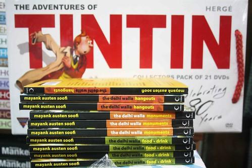 Tintin in Delhi