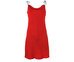 coral-red-silk-dress (lignedesoie) Tags: resortwear silkgown redsilkdress