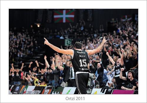 Bizkaia Bilbao Basket-Real Madrid by Ortzi Omeñaka