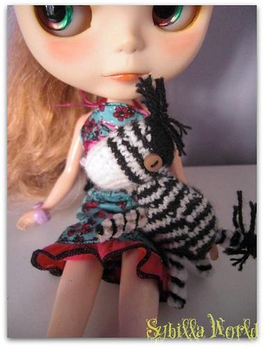 Amigurumi Cebra by sybillaworld