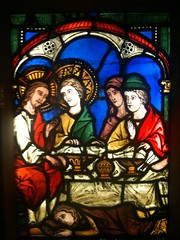 Medieval stained glass (radiowood) Tags: art cathedral stainedglass medieval strasbourg alsace