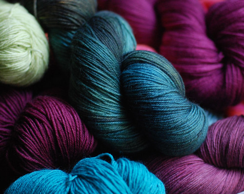 freshly photographed yarn