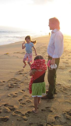 Toby loves his girls
